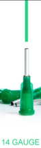 Xiem Tools Prescision Tip 14 gauge (Dark Green)