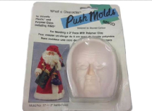 Amaco Push Mould - #17 SANTA FACE