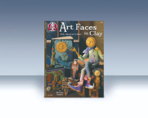 BOOK: ART FACES IN CLAY NO 522