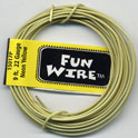 FUN WIRE 18 GAUGE NEON YELLOW