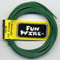 FUN WIRE 18 GAUGE LIGHT GREEN