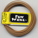 FUN WIRE 22 GAUGE NEON ORANGE