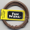 FUN WIRE 22 GAUGE CLEAR COPPER