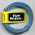 FUN WIRE 24 GAUGE NEON BLUE