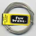 FUN WIRE 24 GAUGE CLEAR SILVER