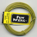 FUN WIRE 22 GAUGE CLEAR LEMON