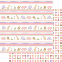 Sweet Beginnings Girls sticker Pack