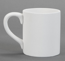 Bisque Plain Mug - 450ml 110x90x128mm