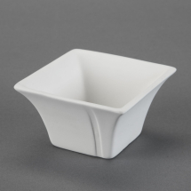 Bisque Asian Rice Soup Bowl 4.4 x 4.4 x 2.6inch