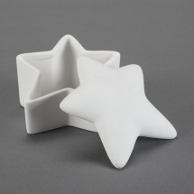 Bisque Slant Star Box 5.6 x 5.1 x 3.2inch