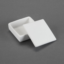 Bisque Small Tile Box 3 x 3 x 1.3inch