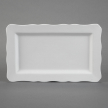 Bisque Provence Serving Platter 13 x 8 x 1inch