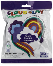 AMACO Cloud Clay PURPLE 4oz