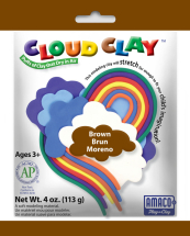 AMACO Cloud Clay BROWN 4oz