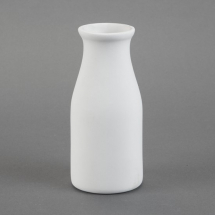 Bisque Milk Bottle