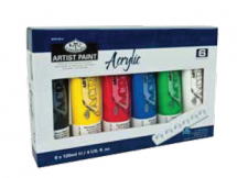 120ml Acrylic Paint Pack of 6