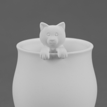 Bisque Cat Spoon 1.2 x 4.7 x 0.9
