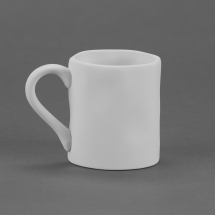 Bisque Wavy Ware Pottery Mug - 320ml 83x125x95mm