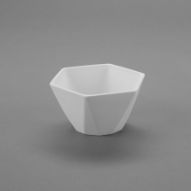 Bisque Geometric Small Bowl 5.2 x 5.2 x 3.1inch