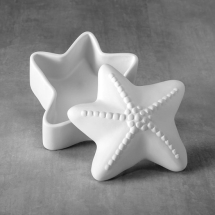 Bisque Starfish Box 5.1 x 5 x  3.1inch