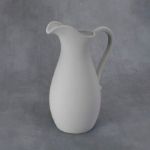 Bisque Large Pitcher 8 x 6 x 12inch