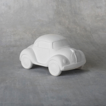 Bisque Cute Car 6 x 3.5 x 3.8inch
