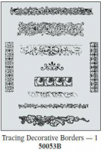 Art Emboss Decorative Borders1 Tracing Patterns