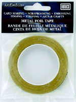 Art Emboss FOIL TAPE - COPPER 1/4inchx16ft