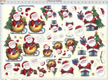 Decoupage Paper - 51.1023 Christmas