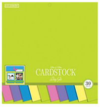 Colorbok 12inch Cardstock Day Glo Pad