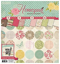 Colorbok Signature Pads-12inch Homespun Pad