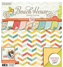 Colorbok Signature Pads-12inch Beach House Pad