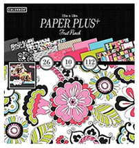 Colorbok Paper Plus Pads- 12inch Fruit Punch Pad