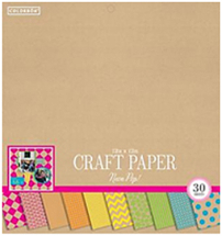 Colorbok 12inch Craft Neon Pop Pad