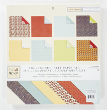 Heidi Grace-Tweet Memories Specialty Basics Paper Pad