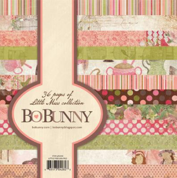 BoBunny 6Inch Little Miss Paper Pad