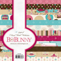 BoBunny Sweet Tooth 6x6 Paper Pad