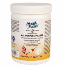 Friendly Plastic- IVORY PELLETS 25lb PAIL (11.34Kg)
