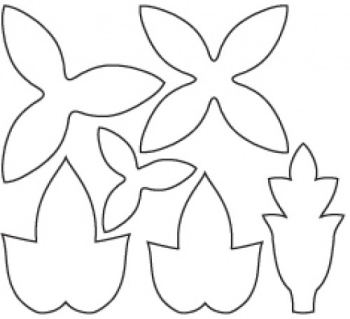 Clay Cutters - 6 Intricate Flower Designs - 50% Off