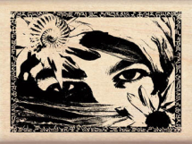 Wood Stamp- Spring Collection-Asian Mysteries