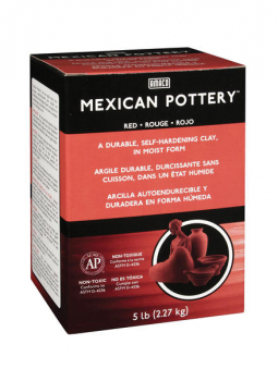 48562C Amaco MEXICAN POTTERY Self-Hardening Clay