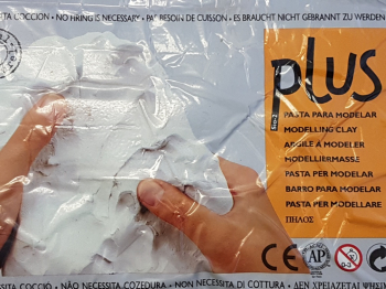 P1563 Plus White Modelling Clay