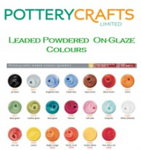 Potterycrafts On-Glaze Leaded Powder