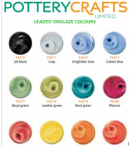Potterycrafts Liquid Leaded Colours 15ml
