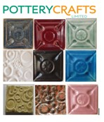 Potterycrafts - Porcelain Oxidising Powder Glazes