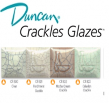 DUNCAN Crackle Glazes 1000-1020°C