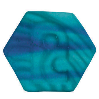 P4348 Potterycrafts LEAD FREE Powder - Turquoise