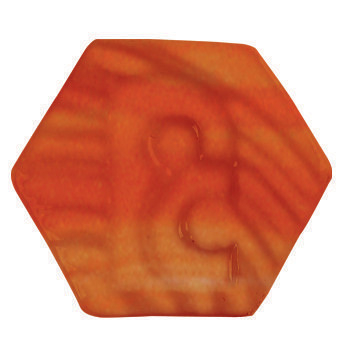 P4359 Potterycrafts LEAD FREE Powder - Bright Orange