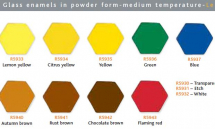 Glass Enamels Leaded 550-590°C