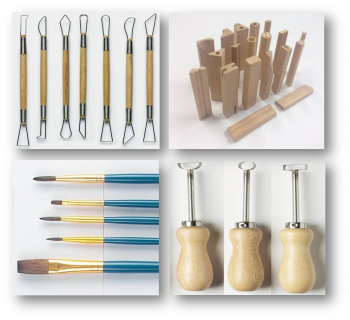 Potterycrafts - China Painting Brushes